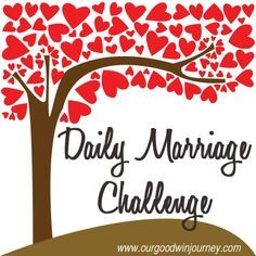 A super quick, super easy, super fun way to impact your marriage. Take this Daily Marriage Challenge and begin today!