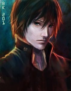 """""""Darker Than Black."""" Never heard of it until today, but the artwork's pretty cool."""