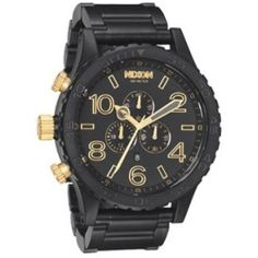 http://best-watches.chipst.com/nixon-42-20-chrono-watch-matte-blackgold/ @! – Nixon 42-20 Chrono Watch (Matte Black/Gold) This site will help you to collect more information before BUY Nixon 42-20 Chrono Watch (Matte Black/Gold) – '@!  Click Here For More Images  Customer reviews is real reviews from customer who has bought this product. Read the real reviews, click the following button:  Nixon 42-20 Chrono Watch (Matte Black/Gold) DESCRIPTION : The