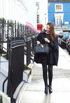 """Littlepinkcherry - Blog mode, beauté, lifestyle...  Article look """"Cape ou pas cape"""""""