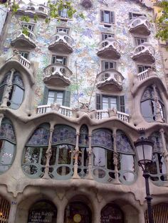 Antoni Gaudi - Architect  Barcelona, Spain