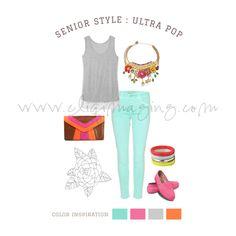 Senior Outfit | Clothing Ideas & Inspiration | Senior Portraits | Cliq Imaging Photography