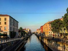 Milano Navigli . #navigliomilano #milano #photoftheday #canal #photography #bridge #green #photoshoot #milanodavedere #ig_italy #milan #milanocity #architecture #archilovers #milanocityufficiale #perspective #beautiful #beautifuldestinations #architectureporn #photography #architecture #ig_photosentez #explorer #loves_milano #italy #sky #skyporn #shadow #cloud #city #waterways by paolo.carlini