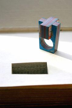 Jeremy May, paper jewelry