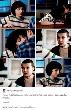 Mike Wheeler and Eleven - Stranger Things