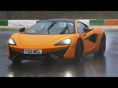 McLaren 570S review- our first impressions of McLaren's new sports car - YouTube