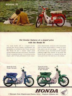 Red Devil Motors: Soichiro Honda, his autograph,the Cub and the London to Brighton Run