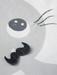 #Gigoteuse brodée thème Miaous'tach motif #chat - Collection automne hiver 2014 - www.vertbaudet.fr