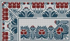 Antique Cross Stitch - rose - Λευκώματα Iστού Picasa