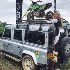 "314 Likes, 5 Comments - Land Rover Chicks (@landroverchicks) on Instagram: ""Love❤️ the idea of not being what people expect you to be... @valeriaduqueh #bethatgirl…"""