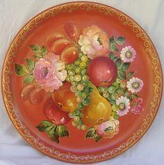 #Russian traditional  #art of  zhostovo