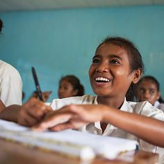 Girls' education is the single best investment we can make to fight poverty around the world. Girls who stay in school are healthier, earn more money as adults, start families later — and most importantly — are more likely to make sure their sons and daughters also go to school.