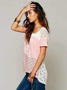 Free People We The Free Drifter Graphic Tee