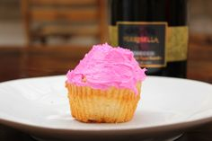 Champagne Cupcakes - Bri's Glass of Wine