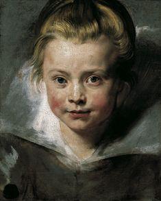 'Portrait of Clara Serena Rubens', 1616 - Peter Paul Rubens
