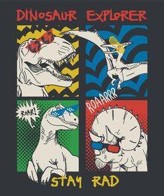 Dinosaur Posters, Dinosaur Images, Cartoon Dinosaur, Dinosaur Funny, The Good Dinosaur, Dinosaur Art, Art And Illustration, Dinosaur Illustration, Animal Alphabet