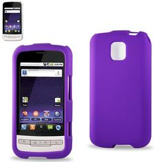 Silicone Case 01 LG OPTIMUS MS690 Purple with Screen Protector #wholesale #reikowireless #B2B #cases #case
