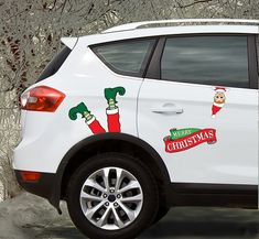 Cute, hilarious elf legs will bring smiles during the miles you drive during Christmas. Christmas Car Decorations, Elf Legs, Christmas Sweaters, Wonderful Time, Trust, Tacky Sweater