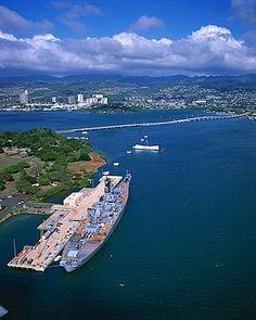 USS Missouri, Arizona Memorial, Pearl Harbor, Honolulu, Oahu, Hawaii, USA