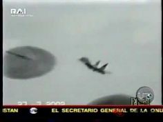 Russian Jet Fighter crosses UFO before Crash