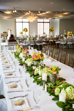 A Stylish Soiree | All About Weddings Head table