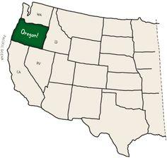 Parchi Americani Columbia River Gorge, Oregon, dove scorre il Columbia River Gorge, e dove vi sono numerose cascate . Cerca con Google