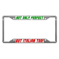 I LOVE MY SCHNAUZER DOG Heavy Duty Metal License Plate Frame Tag Border
