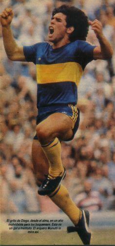 Boca Juniors - 1981 - Gol de Maradona