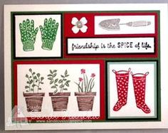 stampin up gift from the garden - Google Search