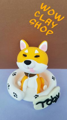 "Are you looking for a topper that features your favourite animal? This eye-catching and original Shiba inu cake topper will give your cake a quirky wow factor with this cute. So really there' s no excuse not to have it, right? Beautiful decoration on your dog birthday cake or figurine for collectors...it is a perfect keepsake gift. Material: High quality and special non-toxic polymer clay. They last a lifetime. Dimensions: 2,3"" x 2,3"" (6 x 6 cm) Dog Cake Topper, Cake Toppers, Dog Birthday, Birthday Cake, Polymer Clay Cake, Beautiful Decoration, Shiba Inu, Your Favorite, Your Dog"