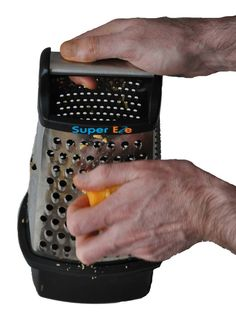 The brand new SuperEze Cheese & Vegetable Grater & Slicer. Grater, Grated Cheese, Canning, Vegetables, Vegetable Recipes, Home Canning