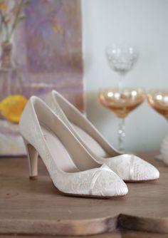 Melanie, Bridal Shoes -  Bruidsschoenen - Brautschuhe