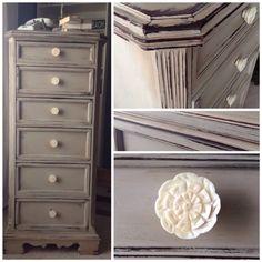 Lingerie chest. For sale at Lee.Marie Antiqued Furniture on Facebook