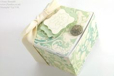 Stampin' Up! UK Wide Square Hinged Box VIDEO Oh I am so excited by this box! One of my downline, the lovely Jocelyn, is an artisan soap maker and she also makes body lotions and creams (among…