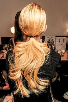 long ponytail: Lipstick.com