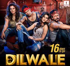 Dilwale New Poster - SRK, Kajol, Kriti Sanon, Varun Dhawan