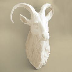 Tozai Home Large Ram Trophy Head