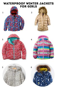 6 cool waterproof winter jackets for girls in every price range