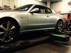 Maserati wheel alignment correction Wheel Alignment, Maserati, Edinburgh, Centre, 3d