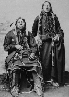 Tivas brothers - Comanche - circa 1890