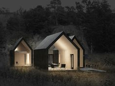 RRA's Micro Cluster Cabins Give Traditional Pitched Roofs a Modern Twist in Norway Micro Cluster Cabins by Reiulf Ramstad Architects – Inhabitat - Sustainable Design Innovation, Eco Architecture, Green Building