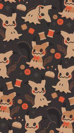 Cute Pokemon Wallpaper, Cute Patterns Wallpaper, Cute Anime Wallpaper, Cute Cartoon Wallpapers, Animes Wallpapers, Cool Pokemon Wallpapers, Pokemon Halloween, Halloween Art, Kawaii Art