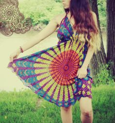 Pretty mandala dress