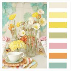 Thr Mother Huddle - color palett