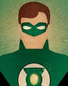 Minimal Heroes Green Lantern by Jeff Janelle Art Design on Etsy Dc Comics Poster, Arte Dc Comics, Comic Poster, Bd Comics, Comic Art, Superman Poster, Canvas Art Prints, Canvas Wall Art, Canvas Canvas