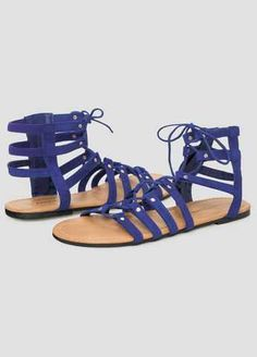 #FashionVault #ashley stewart #Women #Accessories - Check this : Flat Lace-Up Gladiator - Wide Width for $18.98 usd