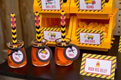 #construction truck birthday party #construction theme