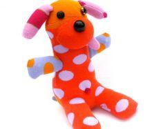Belly Plush Dog Sock Toy Stuffed Animal Joey Jelly engraçado Handmade viajou para a Índia