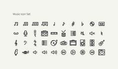 990 Icons  on Behance