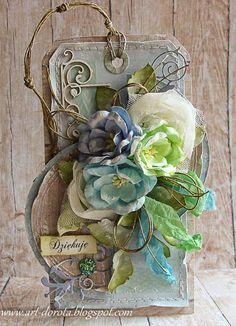 Dorota_mk, Tag with flowers